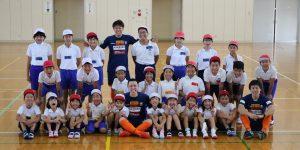 【大分県 スポーツ交流地域活力創出事業】豊後高田市立田染小学校を訪問しました!