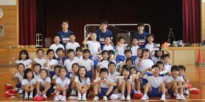 【大分県 スポーツ交流地域活力創出事業】大分市立野津原東部小学校を訪問しました!