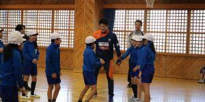 【大分県 スポーツ交流地域活力創出事業】日田市立咸宜小学校を訪問しました!