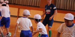 【大分県 スポーツ交流地域活力創出事業】大分市立長浜小学校を訪問しました!